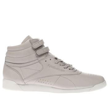 Reebok Lilac Freestyle Hi 35 Womens Trainers
