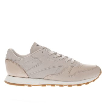 Reebok Pink Classic Golden Neutrals Womens Trainers