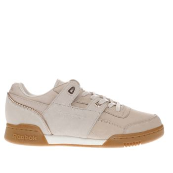 Reebok Pink Workout Lo Golden Neutrals Womens Trainers