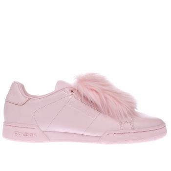 Reebok Pink Local Heroes X Npc Ii Womens Trainers