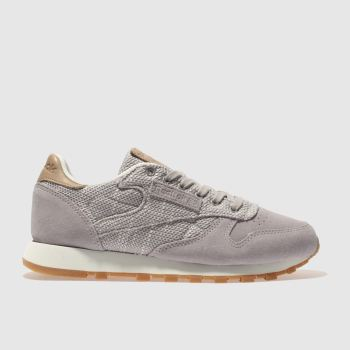 Reebok Lilac Classic Leather Ebk Womens Trainers
