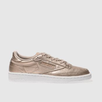 Reebok Gold Club C 85 Leather Pearl Womens Trainers