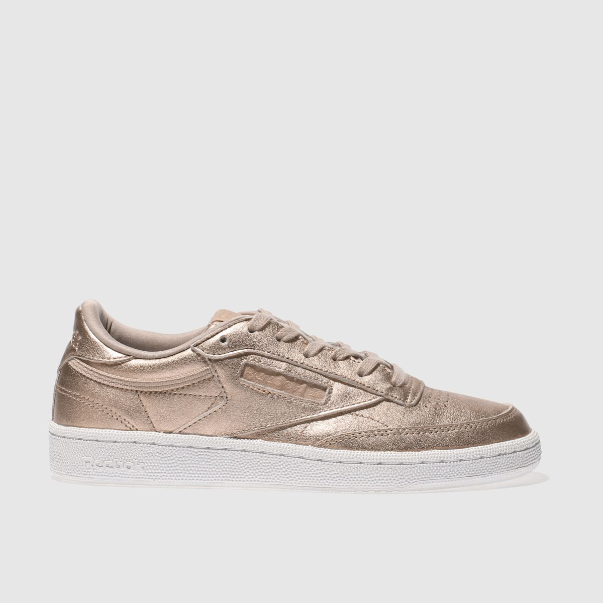 reebok gold club c 85 leather pearl trainers