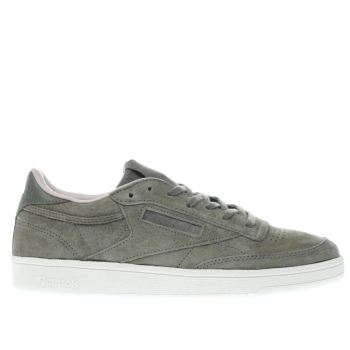Reebok Khaki Club C 85 W&W Womens Trainers