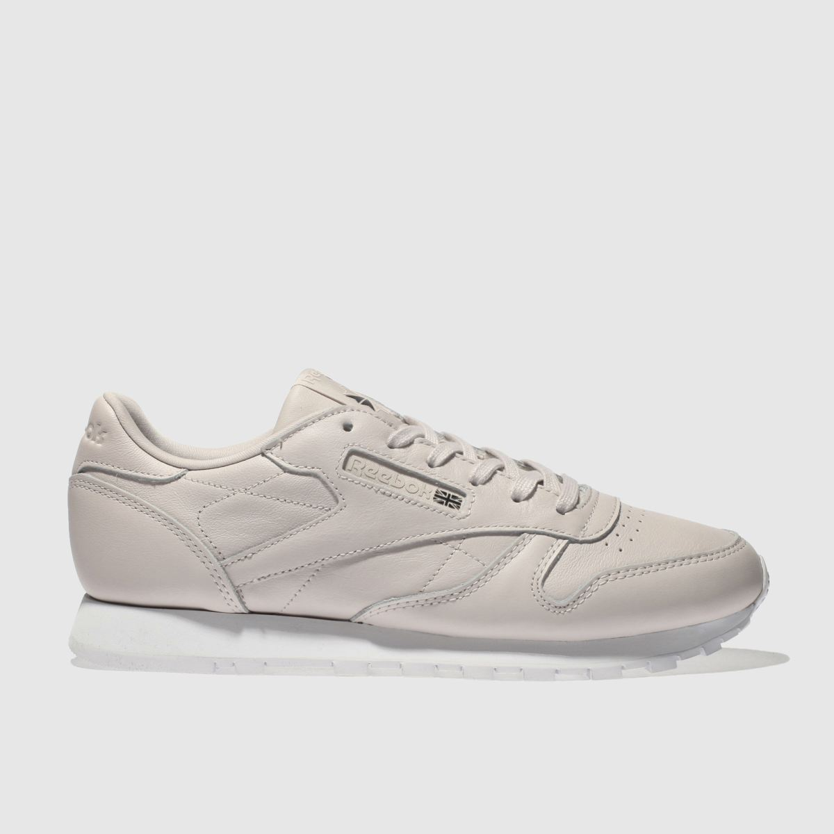 Reebok Pale Pink Classic Leather Trainers
