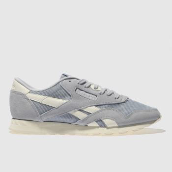 Reebok Blue Classic Nylon Cold Pastel Womens Trainers