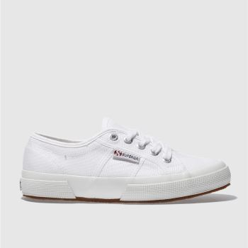 Womens Superga White 2750 Cotton Trainers