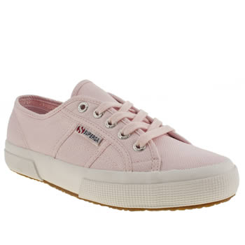 Womens Superga Pink 2750 Trainers