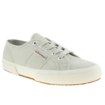 Superga Light Grey 2750 Trainers