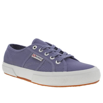Superga Lilac 2750 Cotton Womens Trainers