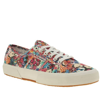 Superga Multi 2750 Liberty Print Womens Trainers