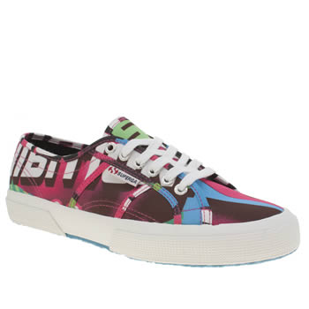 Superga Multi 2750 Rolling Stones Womens Trainers