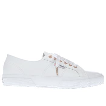 Superga White 2750 Womens Trainers