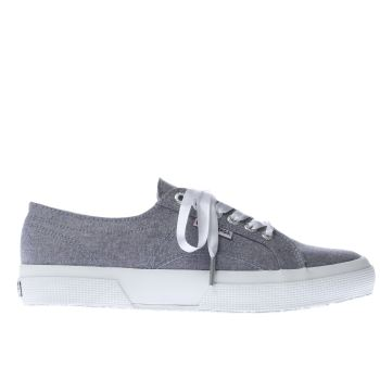 Superga Blue 2750 Chambray Womens Trainers