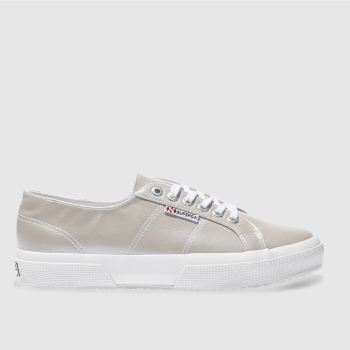 Superga Grey 2750 Womens Trainers