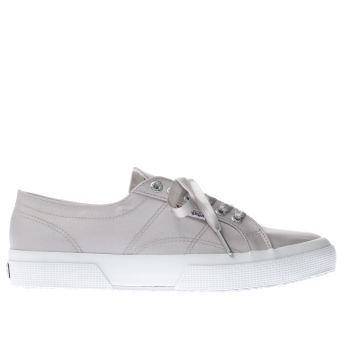 Superga Grey 2750 Satin Womens Trainers