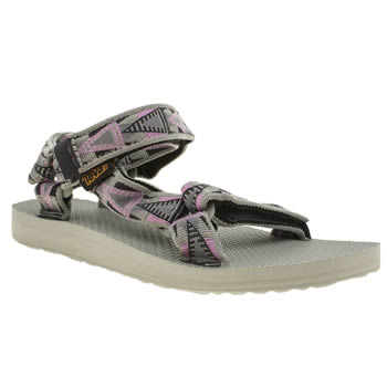 Teva Light Grey Original Universal Sandals