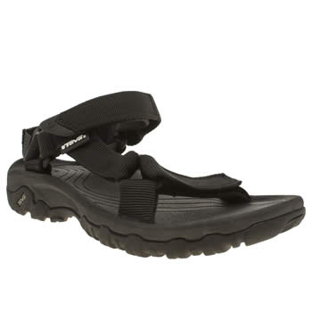 Teva Black Hurricane Xlt Sandals