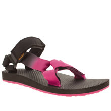 Teva Black & pink Universal Gradient Womens Sandals