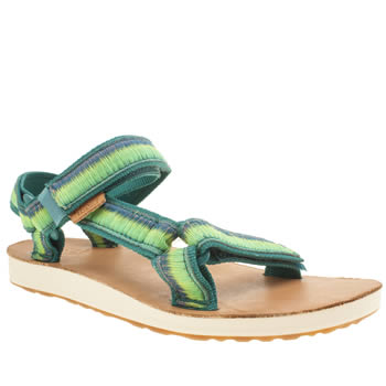 Teva Teal & Green Original Universal Ombre Sandals