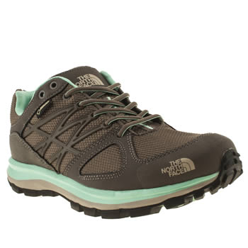 womens the north face  brown litewave gtx trainers