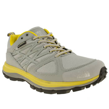 Womens The North Face Light Grey Litewave Gtx Trainers
