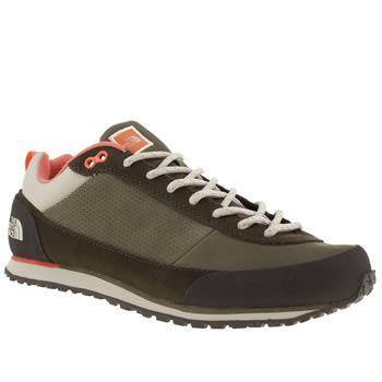 Womens The North Face Khaki Scend Trainers