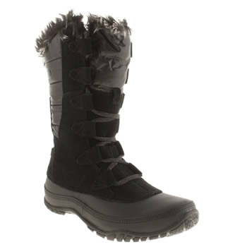 The North Face Black Nuptse Purna Boots