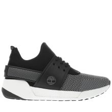 Timberland Black & White Kiri Fly Chukka Womens Trainers