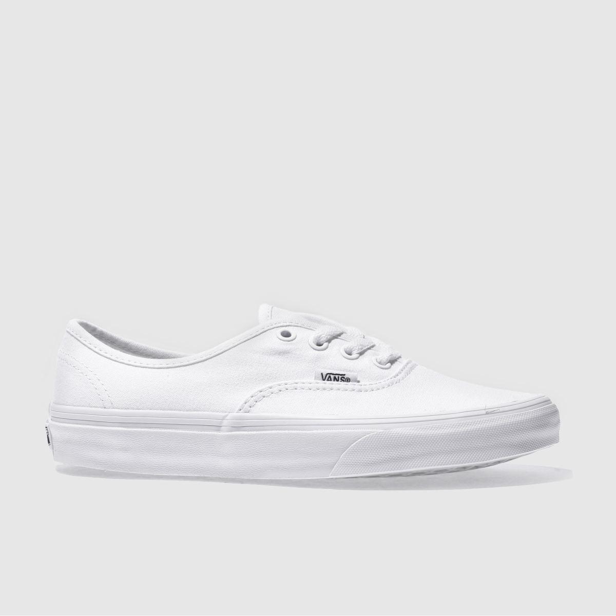 Vans White Authentic Trainers
