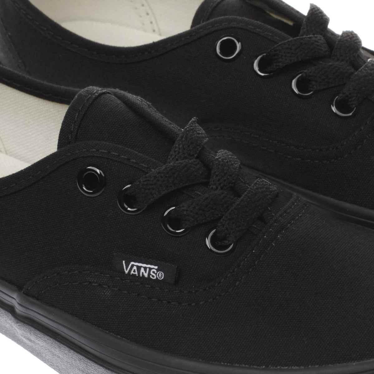 black vans womens