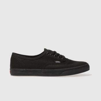 Womens Vans Black Authentic Lo Pro Trainers