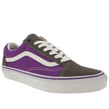 Purple Vans Old Skool