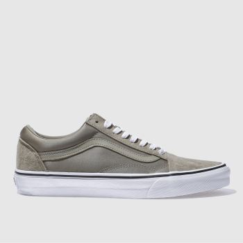 Vans Khaki Old Skool Boom Boom Womens Trainers