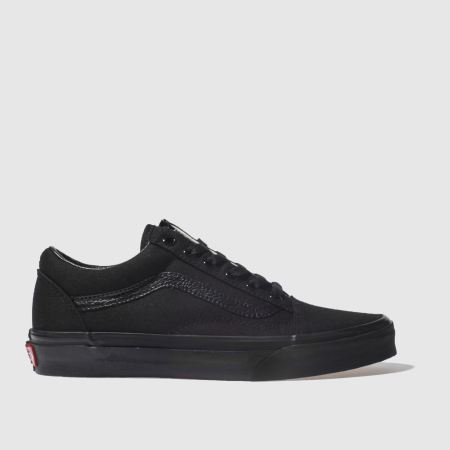 vans old skool black sale