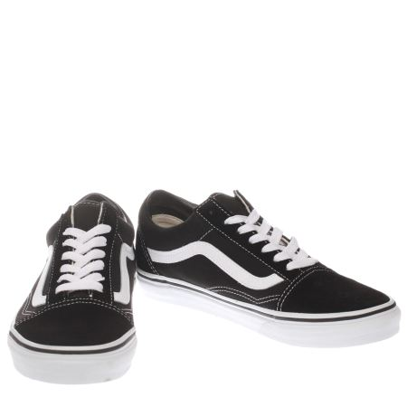 ladies vans old skool black