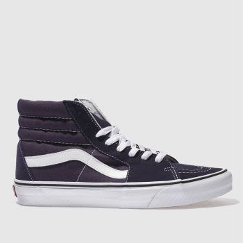 Vans Purple Sk8-Hi Womens Trainers