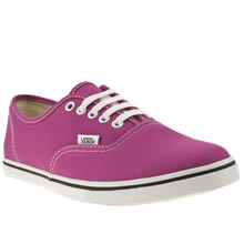 Purple Vans Authentic Lo Pro Vi