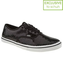 Black & White Vans Authentic Lo Pro Vi