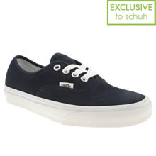 Navy & White Vans Authentic Viiii
