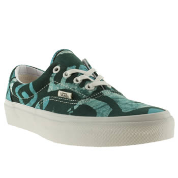 womens vans navy & pl blue x della era iv trainers
