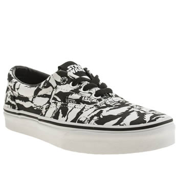 Vans Black & White Era Trainers