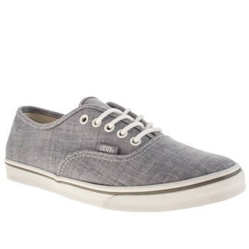 Vans Pale Blue Authentic Lo Pro Vii Trainers