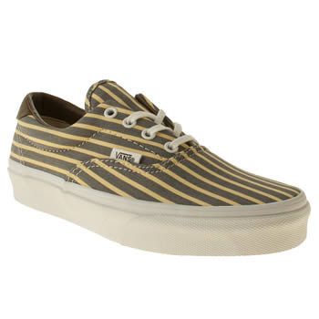 womens vans yellow era 59 trainers