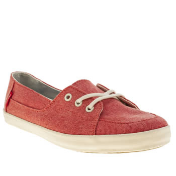 Vans Red Palisades Vulc Trainers