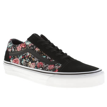 Vans Black & pink Old Skool Ii Trainers