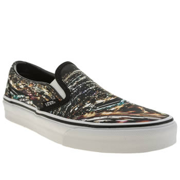 Womens Vans Multi Classic Slip City Trainers