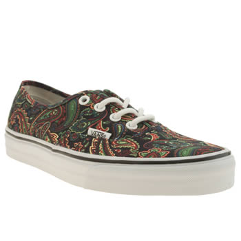 Womens Vans Multi Authentic Trainers