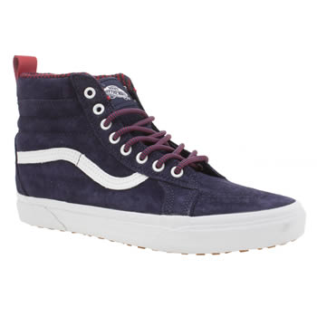 Vans Dark Purple Sk8-hi Mte Womens Trainers
