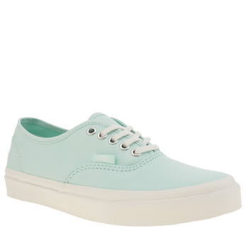 Vans Turquoise Authentic Slim Trainers